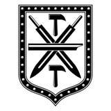 Tula city coat of arms Royalty Free Stock Photos