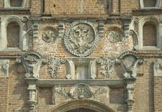 Tula. Details of Dormition Cathedral Royalty Free Stock Photos