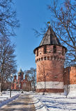 Tula Kremlin, Rússia imagens de stock