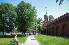 Tula Kremlin - allgemeiner Garten Lizenzfreie Stockfotografie