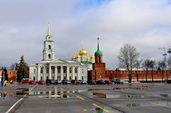 Tula Kremlin i Ryssland royaltyfri bild