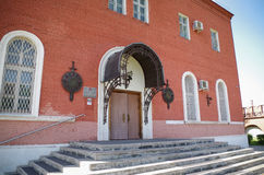 Tula Kremlin - Museum of Arms. Tula Kremlin - Entrance to the Museum of Arms royalty free stock photo