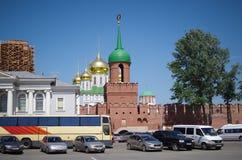 Tula Kremlin- - Odoyevsky-Torturm Lizenzfreie Stockbilder