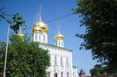 Tula Kremlin - Uspensky-Kathedrale Lizenzfreies Stockfoto