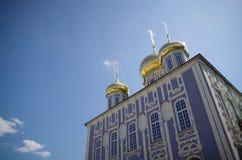 Tula Kremlin - Uspensky-Kathedrale Lizenzfreies Stockbild
