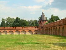 Tula Kremlin Stock Photo
