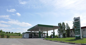 Tula, RUSSIA - 05.29.2015.  Gas Station SitiOyl on a M4 highway Don Royalty Free Stock Image