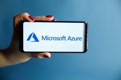 Free Tula, Russia - JANUARY 29, 2019: Microsoft Azure Logo Displayed On A Modern Stock Image - 138990891