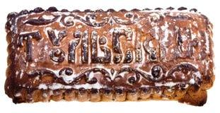Tula spice cake isolated on white Royalty Free Stock Photography