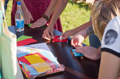 Tula Urban Picnic 2015 Stock Images
