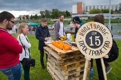 Tula Urban Picnic 2015 Royalty Free Stock Photo