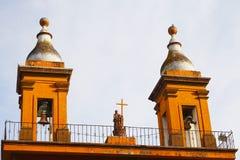 Tulancingo cathedral III Stock Photography