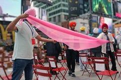 Tulband Dag NYC Royalty-vrije Stock Foto