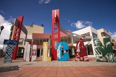 Tulcan Ecuador city centre Royalty Free Stock Photos