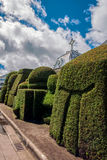 Tulcan Is Known For Three Acre Topiary Garden Cemetery Stock Photography