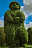 Tulcan, Topiary Cemetery Which Features Types Of Trees Stock Images