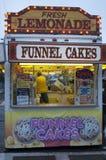 Tulejowy torta stojak przy festiwalem Obraz Royalty Free