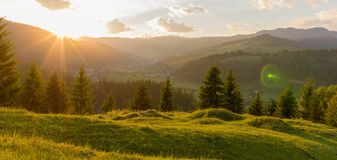Tulghes, Rumunia obrazy stock