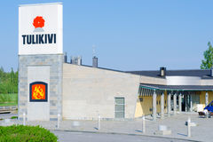 Tulikivi company, Finland Royalty Free Stock Images