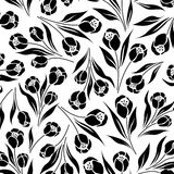 Tulipán floral ditsy Imagen de archivo libre de regalías