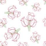 Tulipán pattern_8 Fotos de archivo libres de regalías