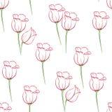 Tulipán pattern_7 Fotos de archivo libres de regalías