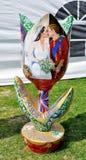 Tulip depicting Royal Wedding Stock Photography