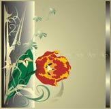 Tulip. Elements of decor. Vector Stock Photos