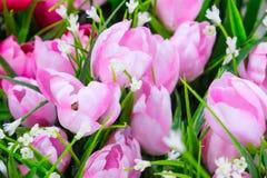 Tulip fake flower Royalty Free Stock Image