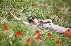 Tulip Field Fotografie Stock