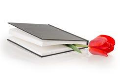 Tulip flower book Stock Image
