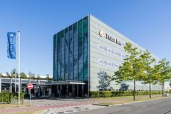 Tulip Inn Amsterdam Airport. Tulip Inn is a 3 star hotel brand of French Groupe du Louvre stock photos
