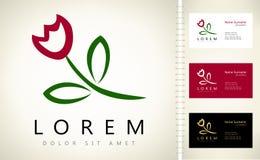 Tulip logo Stock Photography