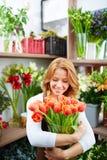 Tulip love Stock Photo