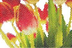 Tulip Mosaic Royalty Free Stock Photo