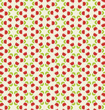 Tulip pattern. Vector illustration of tulip pattern Royalty Free Stock Images