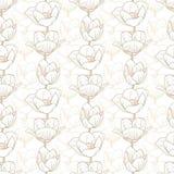 Tulip pattern Stock Image