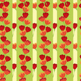 Tulip seamless pattern Stock Photography