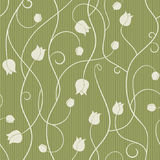 Tulip - seamless pattern Royalty Free Stock Photo