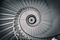 Tulip Staircase, drottnings hus Royaltyfri Bild