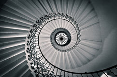 The Tulip Staircase, Queen's House Royalty Free Stock Image
