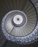 Tulip Stairs na casa do Queens fotografia de stock royalty free