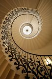 Tulip Stairs, Queen's hus, Greenwich, England Royaltyfri Foto