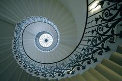 Tulip Stairs, Queen's hus, Greenwich, England Fotografering för Bildbyråer