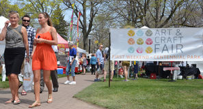 Tulip Time Festival art fair Royalty Free Stock Photography