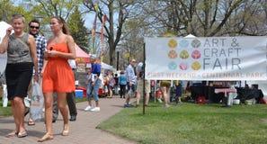 Tulip Time Festival art fair Royalty Free Stock Photography