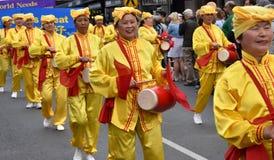 Tulip Time Street Parade in Bowral, Australi? stock foto's