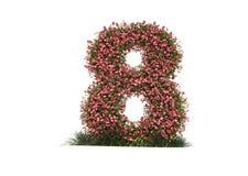 Tulipanów kwiatów wiosna 3d odpłaca się ilustracja wektor