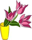 Tulipanów kwiaty Obraz Stock