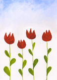 Tulipanes libre illustration